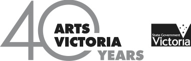 Supported by Arts Victoria