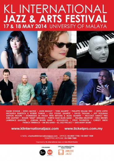 LYQ to perform in KL International Jazz Fest 2014