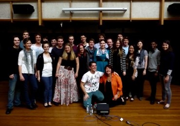 'Misra Chappu' recording with The Australian Voices