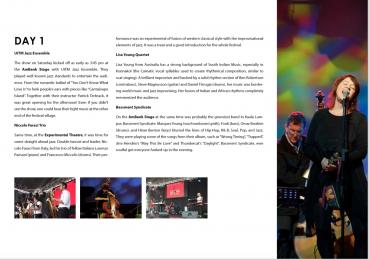 Reminiscing About Kuala Lumpur Jazz Festival 2014